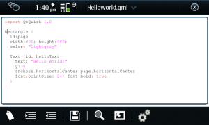 PyGTKEditorEditor in N900