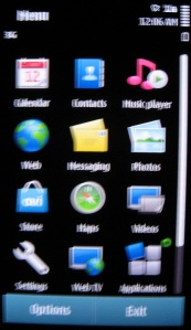 Symbian Menu