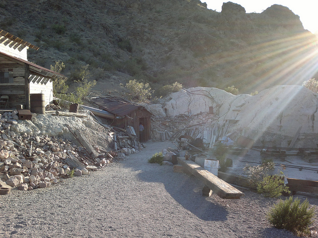Entrance to El Dorado Mine