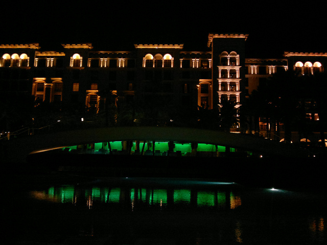 Green Valley Ranch At Night